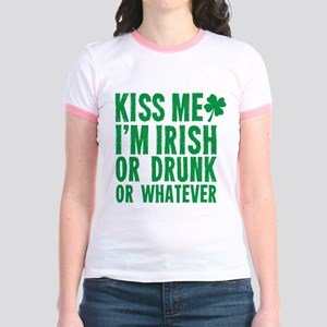 Kiss Me Im Irish Or Drunk Or Whatever T-Shirt
