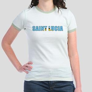 St. Lucia Jr. Ringer T-Shirt