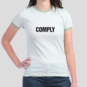 COMPLY Jr. Ringer T-Shirt