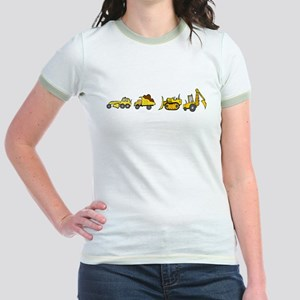 Trucks! Jr. Ringer T-Shirt