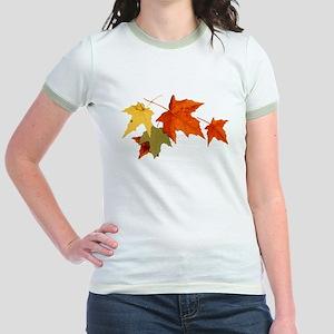 Autumn Colors Jr. Ringer T-Shirt