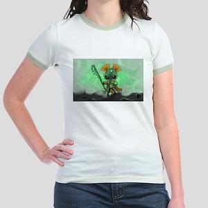 Robot Overlord Jr. Ringer T-Shirt