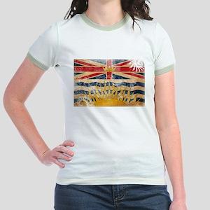 British Columbia Flag Jr. Ringer T-Shirt