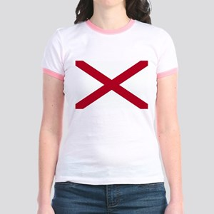 Alabama Flag Jr. Ringer T-Shirt