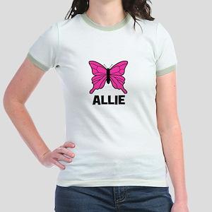 Butterfly - Allie Jr. Ringer T-Shirt