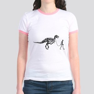 Dinosaur Walk Jr. Ringer T-Shirt
