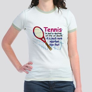 Tennis is a matter ... Jr. Ringer T-Shirt