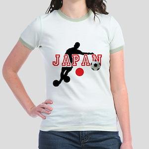 Japan Soccer Player Jr. Ringer T-Shirt