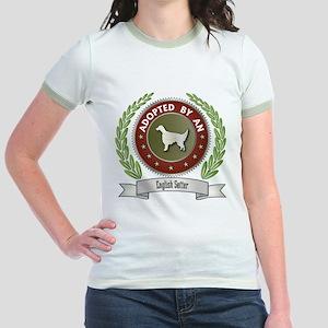 Setter Adopted Jr. Ringer T-Shirt