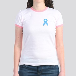 Awareness Ribbon Jr. Ringer T-Shirt