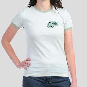 Banker Voice Jr. Ringer T-Shirt