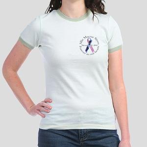 Allie's Mommy Jr. Ringer T-Shirt