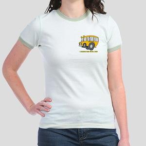 I Drive Cool Bus Jr. Ringer T-Shirt