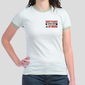 Banker Work Jr. Ringer T-Shirt