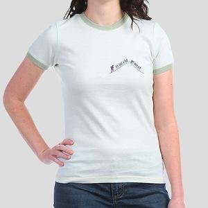 Get Over It (Running) Jr. Ringer T-Shirt