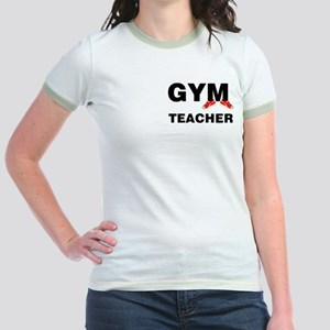 Gym Teacher Sneakers Jr. Ringer T-Shirt