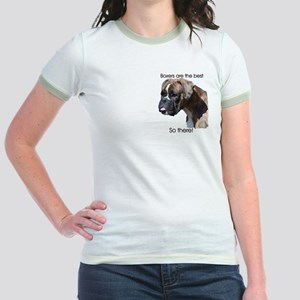 Boxers are the Best Brindle u Jr. Ringer T-Shirt