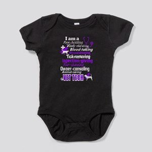 vet tech shirts Baby Bodysuit