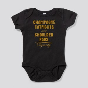 Dynasty Champagne Catfights Shoulder Pads Baby Bod