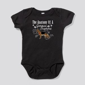The Anatomy Of A German Shepherd Shirt Body Suit