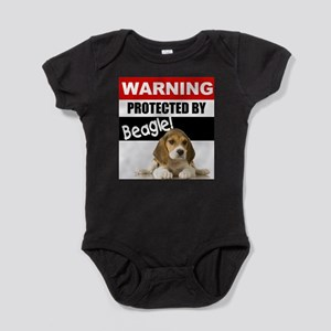 Protected by Beagle Infant Bodysuit Body Suit
