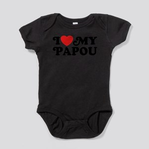 I Love My Papou Infant Bodysuit Body Suit