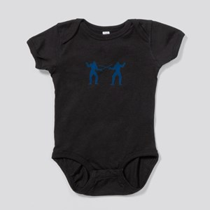 Men Fencing Baby Bodysuit