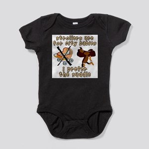 Prefer the Saddle design Infant Creeper Body Suit