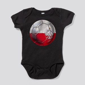 Poland Football Baby Bodysuit