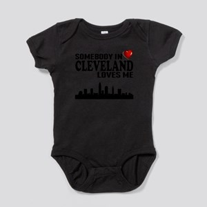 Somebody In Cleveland Loves Me Body Suit