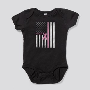 Ribbon Flag Fight Baby Bodysuit