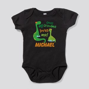 Personalized Great Grandma Loves Me Body Suit