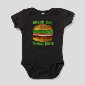 Check Out These Buns Baby Bodysuit