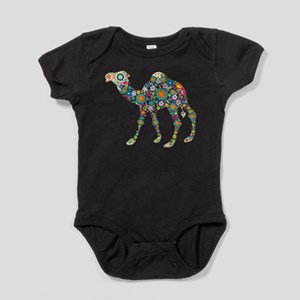 Colorful Retro Floral Camel Body Suit