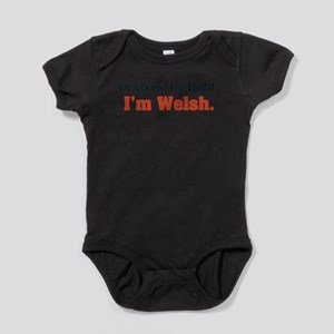 Im Welsh Baby Bodysuit