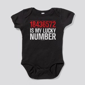 18436572 Is My Lucky Number Baby Bodysuit