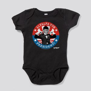 The Little Rascals: Alfalfa For Pres Baby Bodysuit