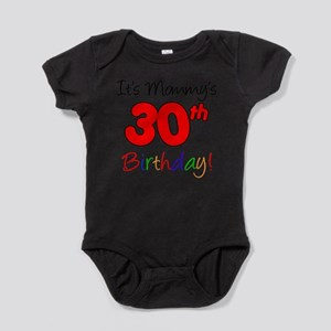 It's Mommy's 30th Birthday Infant Bodysuit Body Su