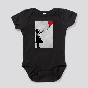 Banksy - Little Girl with Ballon Body Suit
