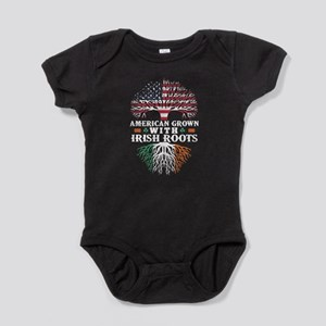 American Grown with Irish Roots Shirt Body Suit