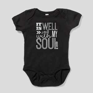 It is Well With My Soul Baby Bodysuit
