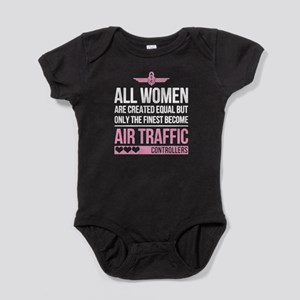 Finest Air Traffic Controller Baby Bodysuit