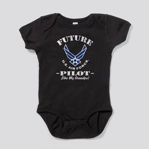 Future Air force Pilot Like My Grand Baby Bodysuit