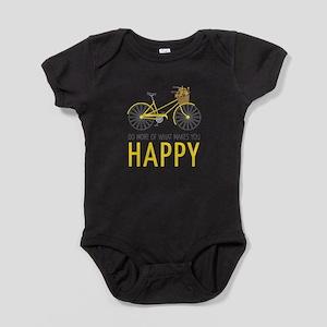 Makes You Happy Baby Bodysuit