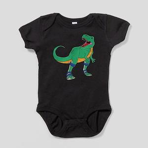 Dino with Leg Braces Infant Bodysuit Body Suit
