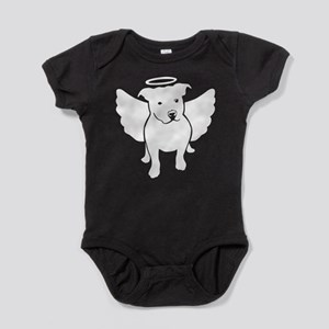 Pit Bull Angel Baby Bodysuit