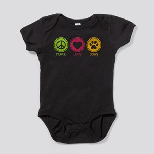 Peace - Love - Dogs 1 Infant Bodysuit Body Suit