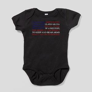Second Amendment Flag Body Suit