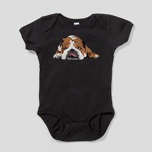 Teddy the English Bulldog Baby Bodysuit