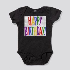 Happy Birthday Infant Bodysuit Body Suit